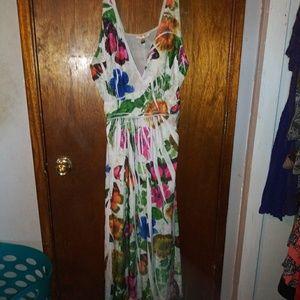Fun surplice neckline 1X dress